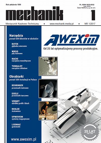 Cover image Mechanik 1/2017